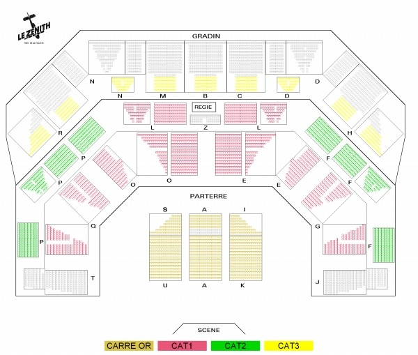 plan zenith paris